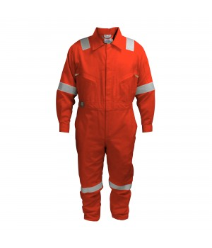 COTTON COVERALL ORANGE