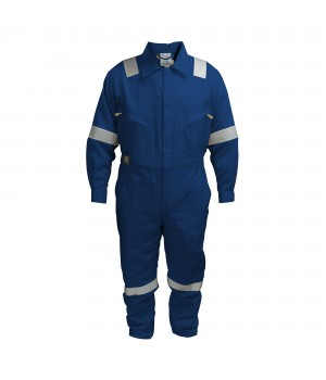 COTTON COVERALL BLUE