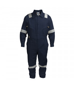 COTTON COVERALL NAVY BLUE